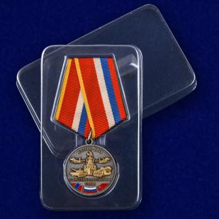 Медаль Совместные стратегические учения Восток-2018 - в пластиковом футляре