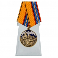 Медаль Спецназ ГРУ на подставке