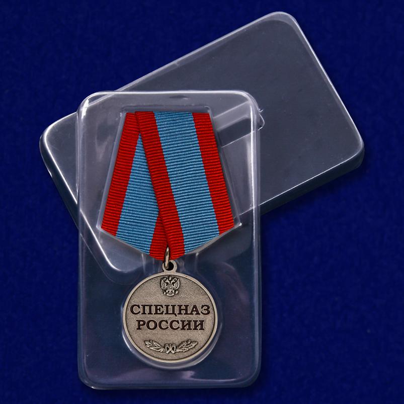 Медаль Спецназ России в футляре