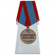 Медаль Спецназ России на подставке