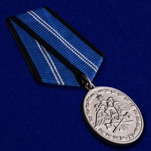 """Медаль Спецстроя """"За безупречную службу"""" 2 степени - общий вид"""