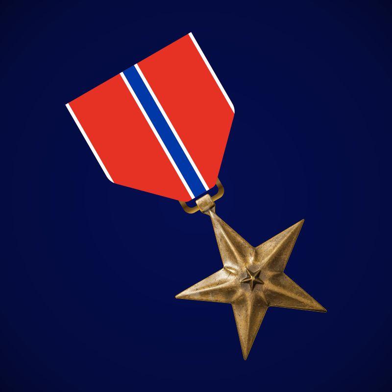"Медаль США ""Бронзовая звезда"""
