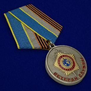 """Медаль СВР """"Ветеран службы"""" - общий вид"""