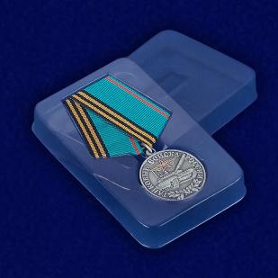 Медаль Танковые войска России (Ветеран) - вид в футляре