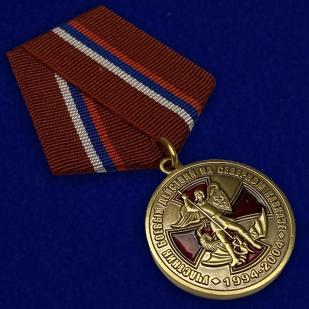 Купить медаль «Участник боевых действий на Северном Кавказе»
