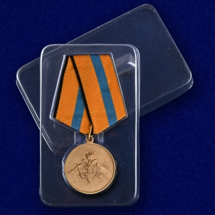 Медаль Участнику борьбы со стихией на Амуре - в пластиковом футляре