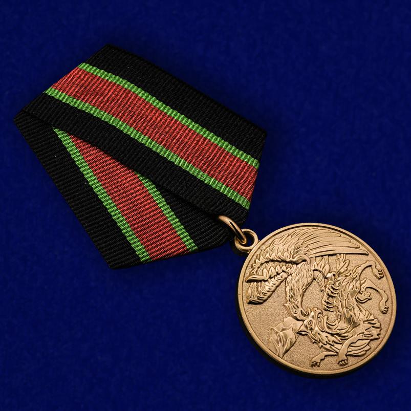 """Медаль """"Участнику контртеррористической операции"""" - общий вид"""