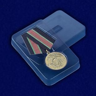 """Медаль """"Участнику контртеррористической операции"""" - вид в футляре"""