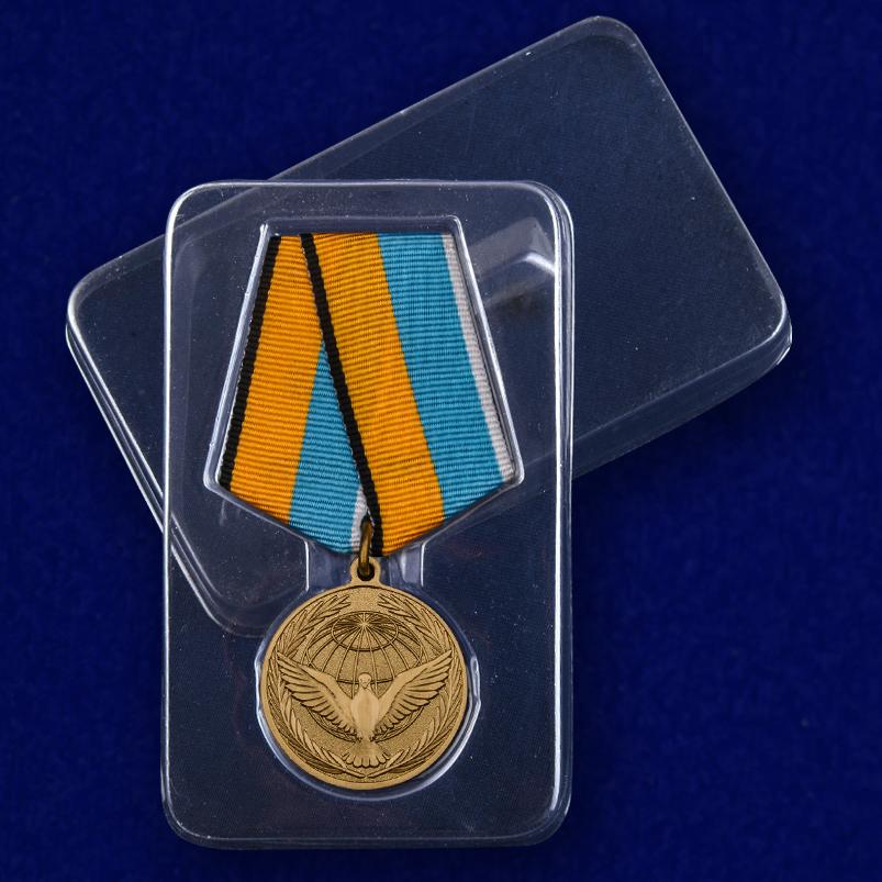 """Медаль """"Участнику миротворческой операции"""" с доставкой"""