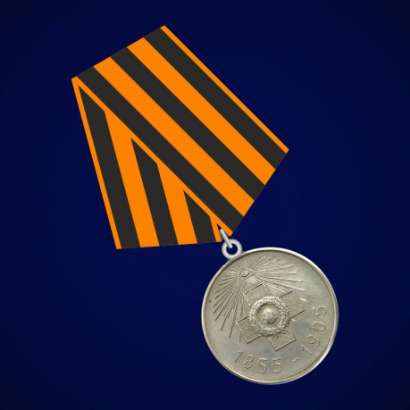 """Медаль """"В память 50-летия защиты Севастополя"""""""
