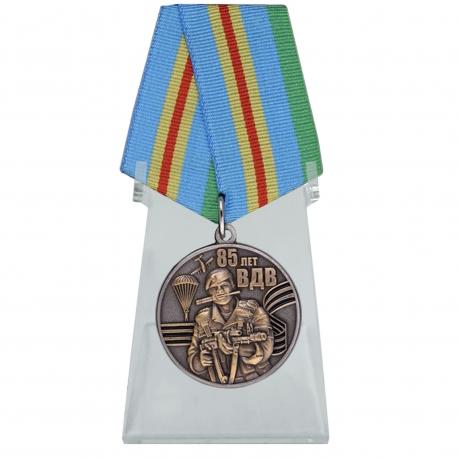 Медаль ВДВ для лучших представителей воздушного десанта на подставке