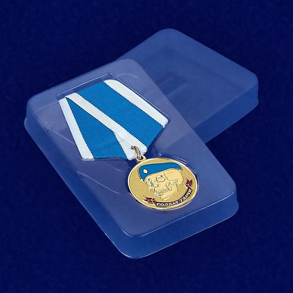 Пластиковый футляр к медали ВДВ Солдат удачи