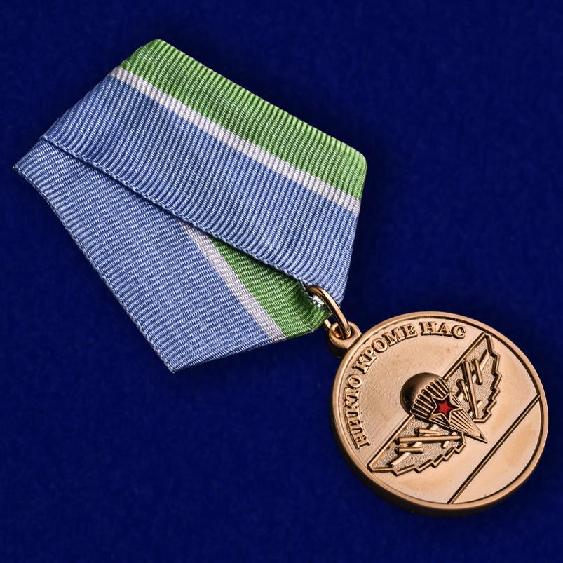 Медаль ВДВ За верность Десантному братству - общий вид