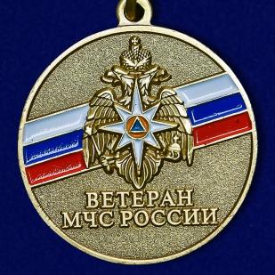"""Медаль """"Ветеран МЧС"""" - аверс"""