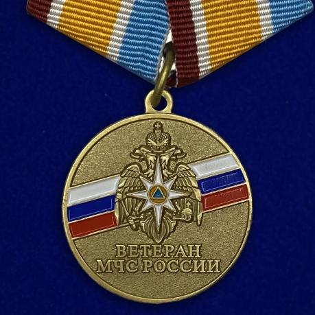 """Медаль """"Ветеран МЧС России"""""""