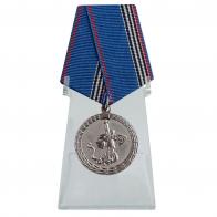 Медаль Ветеран МВД России на подставке