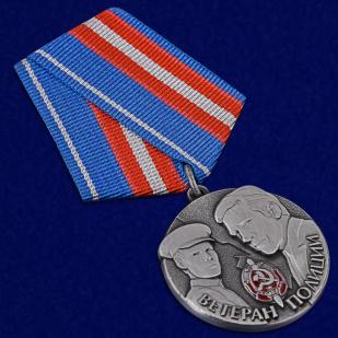 """Купить медаль """"Ветеран полиции"""""""