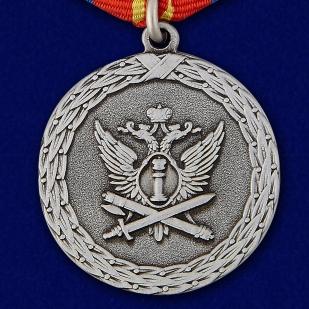 купить медаль Ветеран уголовно-исполнительной системы в футляре из флока
