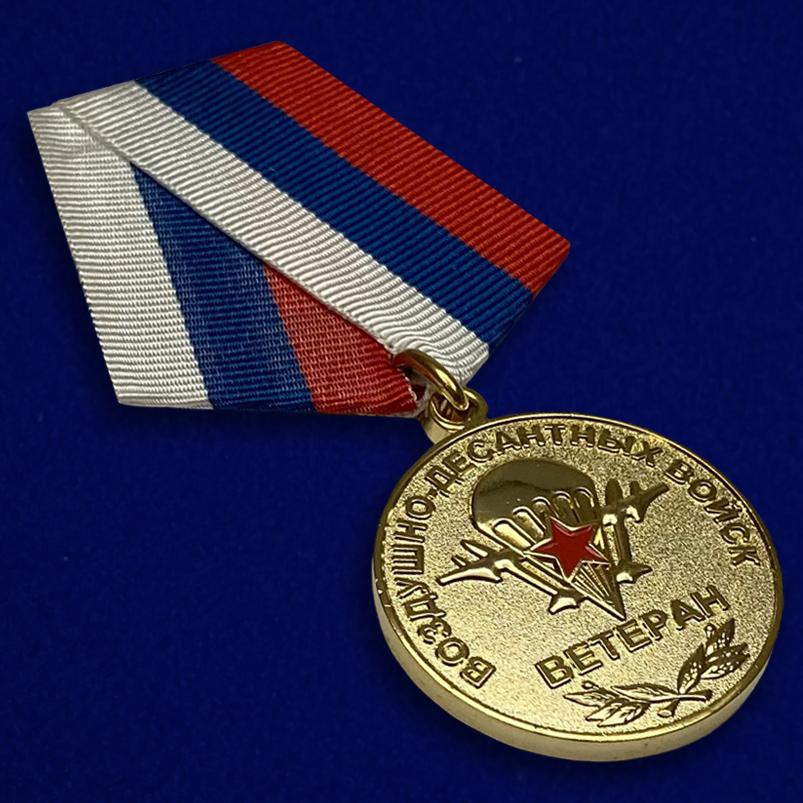 Медаль Ветеран Воздушно-десантных войск-общий вид