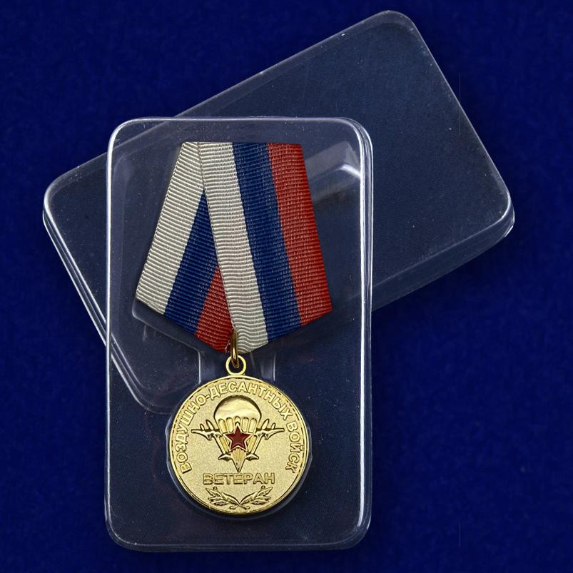 Футляр к медали Ветеран Воздушно-десантных войск