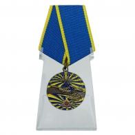 Медаль Ветеран ВВС на подставке