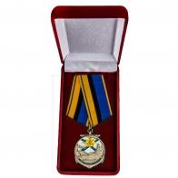 Медаль ветеранам ВМФ в футляре
