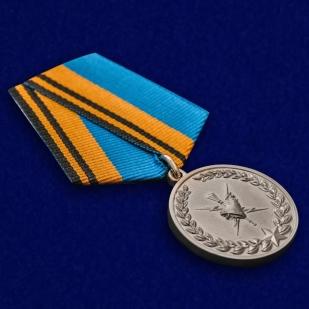 Медаль Ветерану Гидрометеорологической службы ВС РФ в эффектном футляре высокого качества
