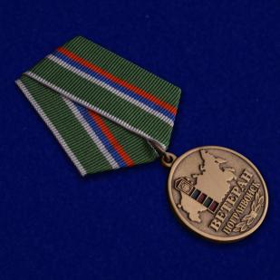 Медаль ветерану Погранвойск купить в Военпро