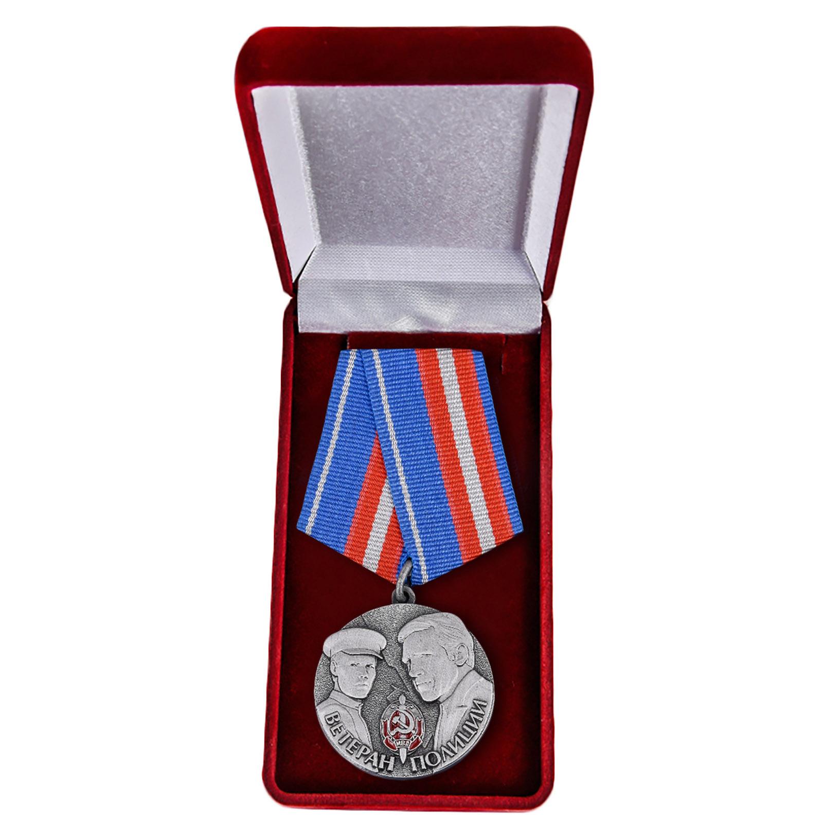 Медаль ветерану полиции купить в Военпро