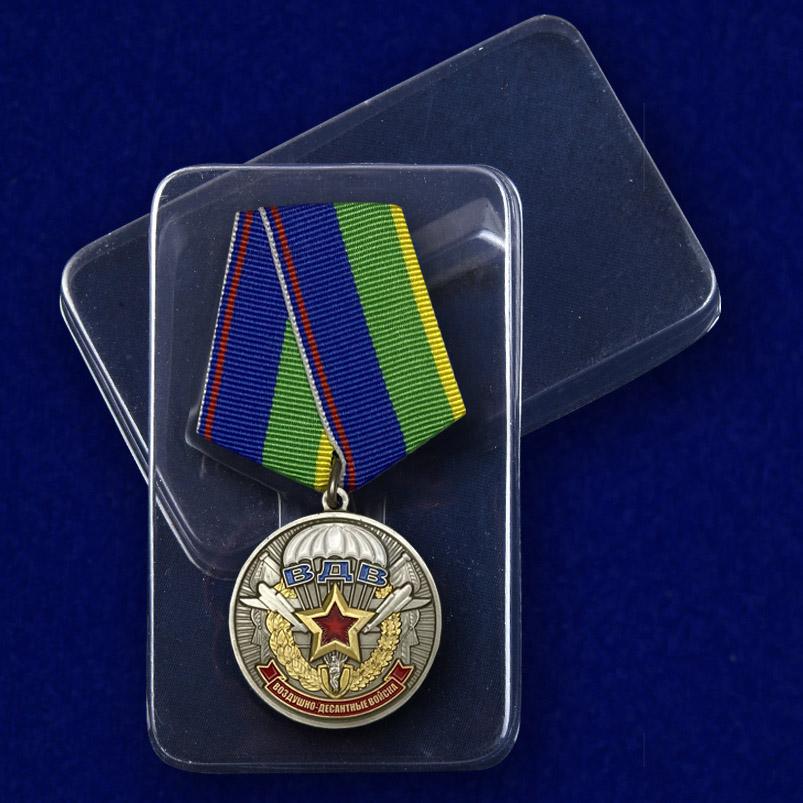 """Медаль """"Ветерану воздушно-десантных войск"""" с доставкой"""