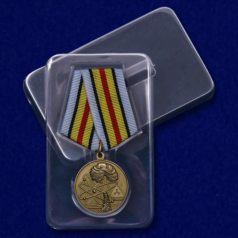 """Медаль """"Ветераны подразделений особого риска"""" с доставкой"""
