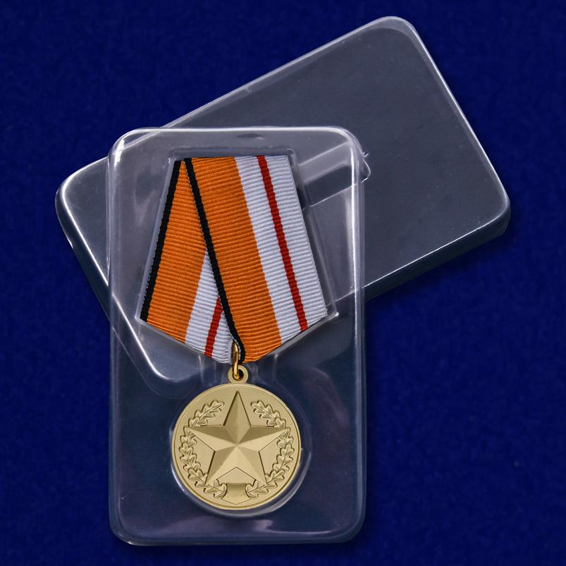"""Медаль """"Всеармейские соревнования"""" в футляре"""