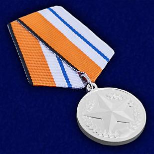 Медаль За отличие в соревнованиях (2 место)