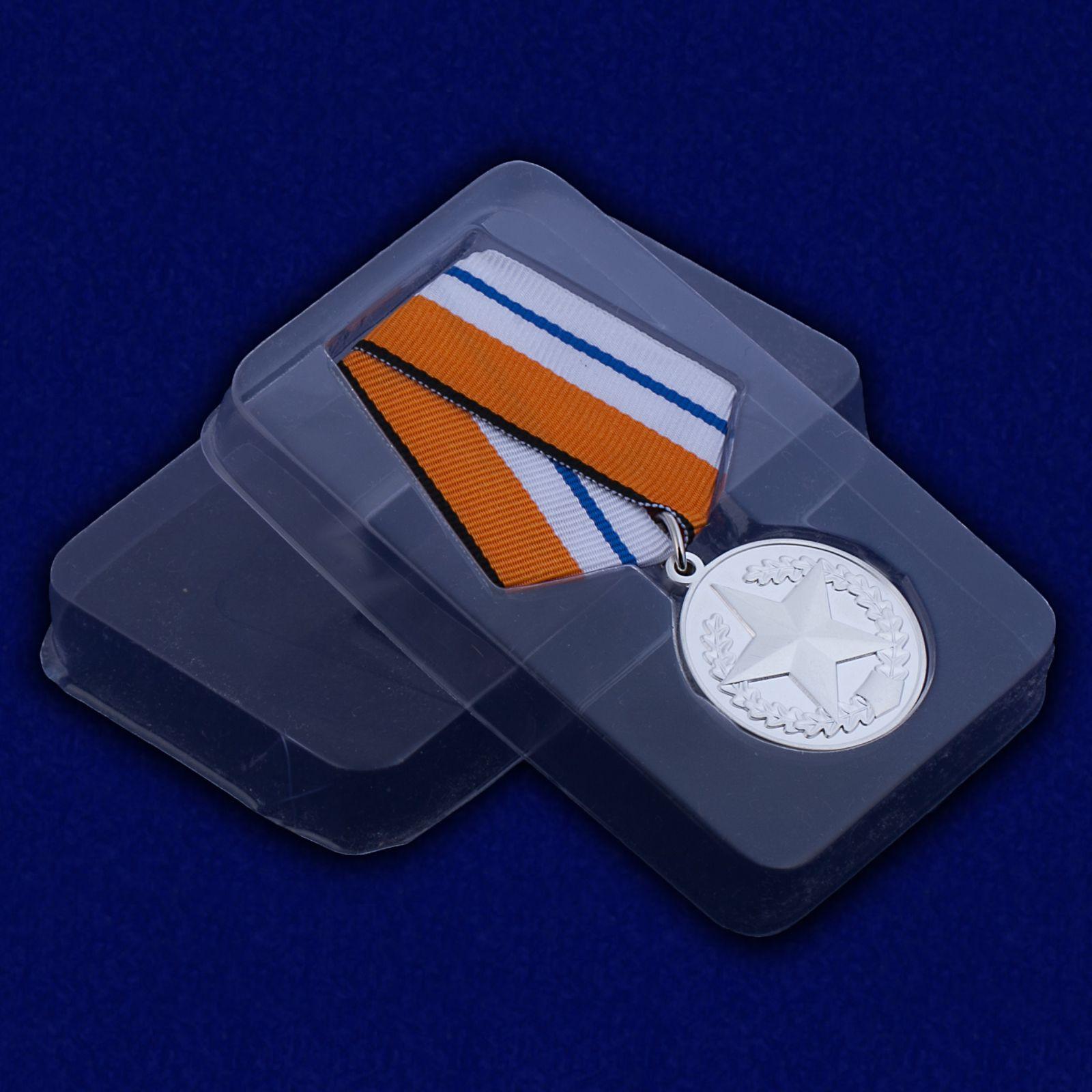 Медаль За отличие в соревнованиях (2 место) с доставкой