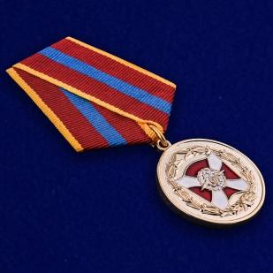 Медаль ВВ МВД РФ За содействие - общий вид