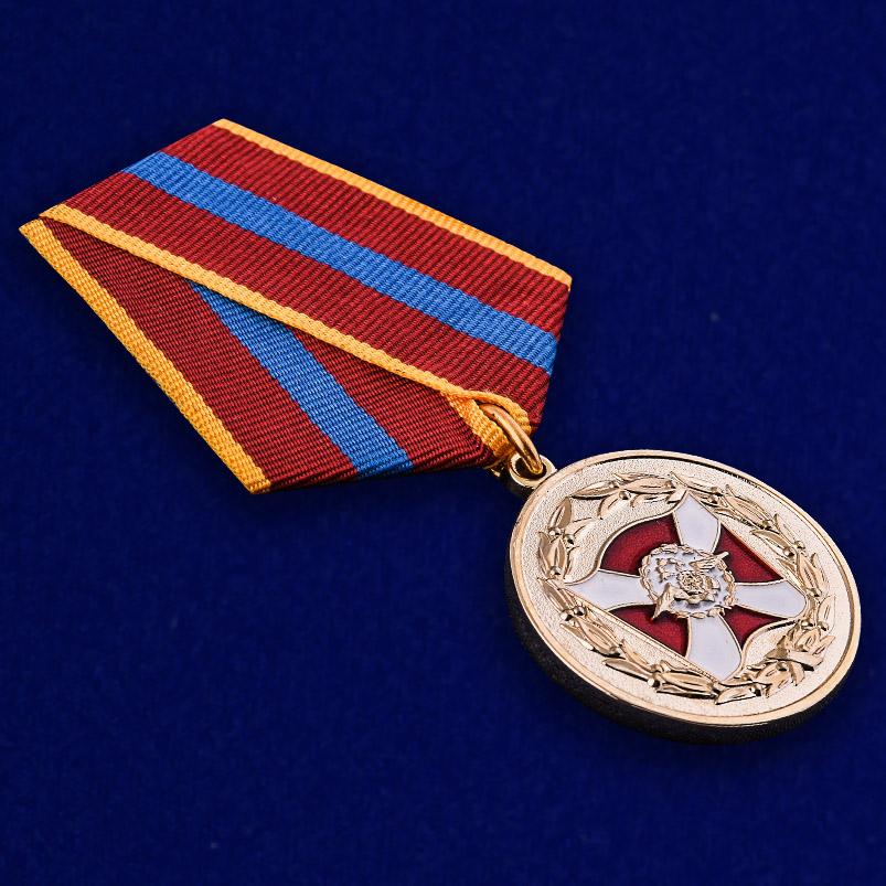 Медаль ВВ МВД России «За содействие» - общий вид