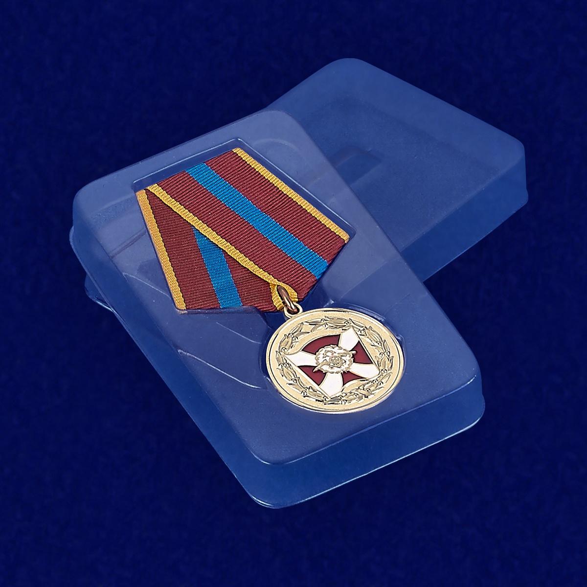 Футляр к медали ВВ МВД России «За содействие»