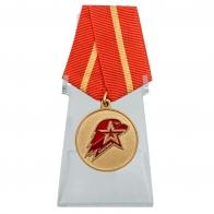 Медаль Юнармия 1 степени на подставке