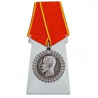 Медаль За беспорочную службу в полиции на подставке