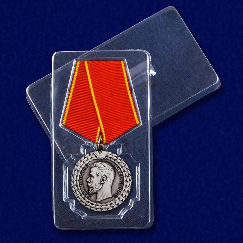 """Медаль """"За беспорочную службу в тюремной страже"""" (Николай II) с доставкой"""