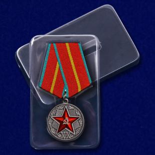 """Репродукция медали """"За безупречную службу"""" КГБ 1 степени"""