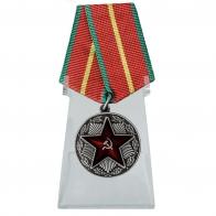 Медаль За безупречную службу МВД на подставке