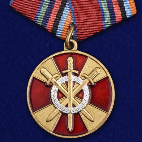 """Медаль """"За боевое содружество"""" Росгвардии"""