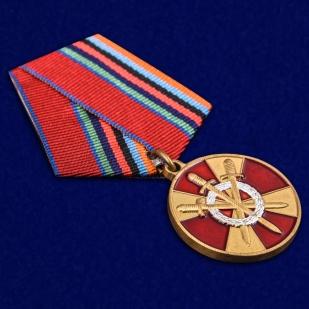 Медаль За боевое содружество Росгвардия - общий вид