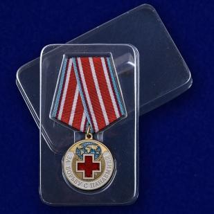 """Медаль """"За борьбу с пандемией"""" в футляре с доставкой"""