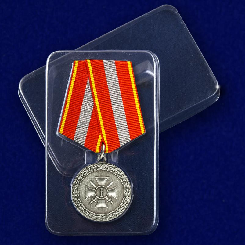 """Медаль """"За доблесть"""" 1 степени в футляре"""
