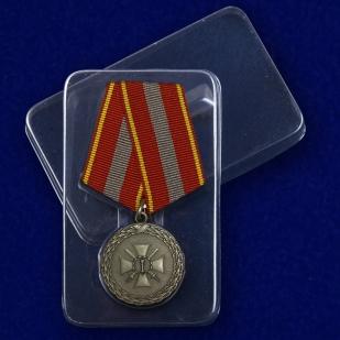 Медаль За доблесть 1 степени - в пластиковом футляре