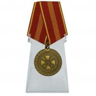 Медаль За доблесть 2 степени на подставке