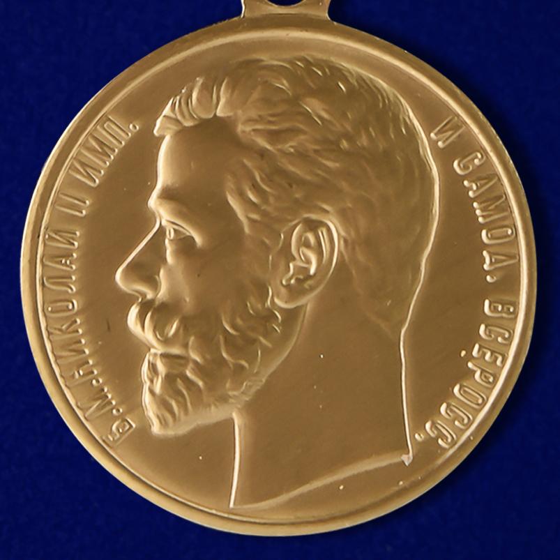 Описание медали «За храбрость» 1 степени (Николай 2) - аверс