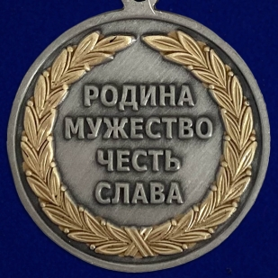 Медаль За казачью волю - реверс